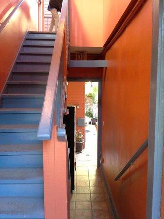 The Frenchmen Hotel : Hallway