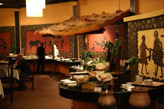 Mara Sopa Lodge: buffet