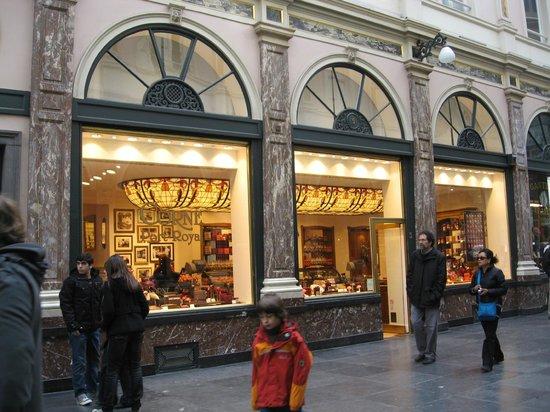 Les Galeries Royales Saint-Hubert : Galeries Saint Hubert 1