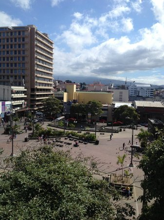 Gran Hotel Costa Rica: VUE DEPUIS LA CHAMBRE