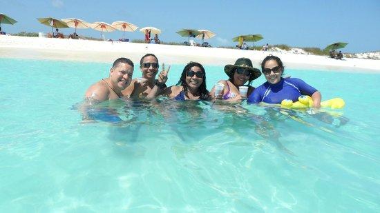 Cayo de Agua: Una amiga Brasilera, donde quedo maravillada de este sitio..