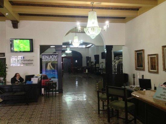 Gran Hotel Costa Rica: HALL RECEPTION