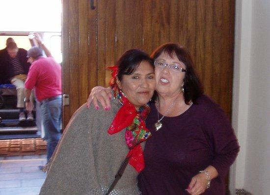 La Casa de Mis Recuerdos B&B : Nora and friend after sight seeing tour