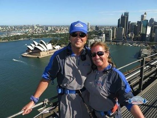 BridgeClimb: stunning views