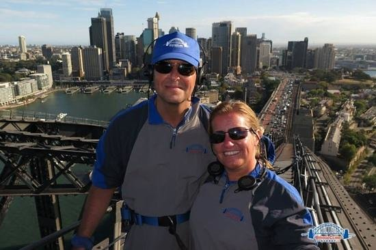 BridgeClimb: stunning views, fab experience