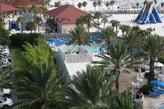 Hilton Clearwater Beach Resort & Spa: vue piscine