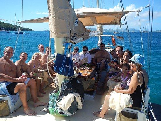 Yacht Nightwind : Great family fun!