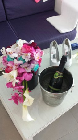 Hotel Riu Palace Bavaro: My wedding flowers