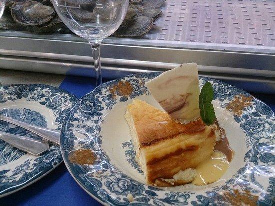 Bar Marucho: Tarta de queso