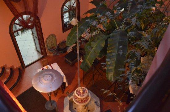 Riad Dar EL Grably: vue de l'étage