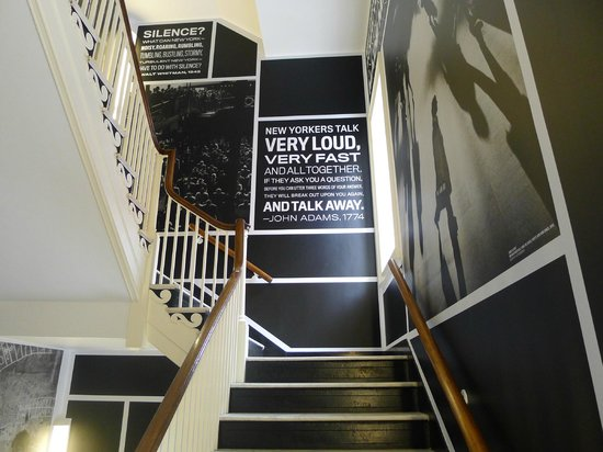 Museum of the City of New York: The inner stairwell
