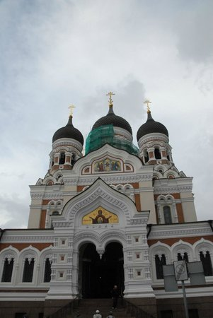 Tallinn Old Town: Orthodox Cathedral of Alexander Nevsky