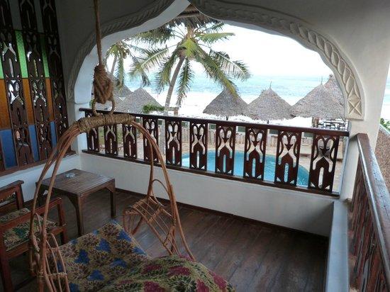 Zanzibar House: Balcon