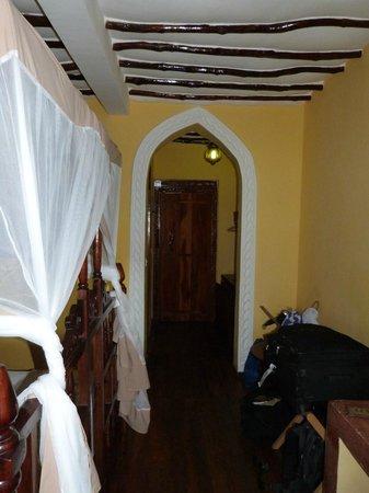 Zanzibar House: Chambre
