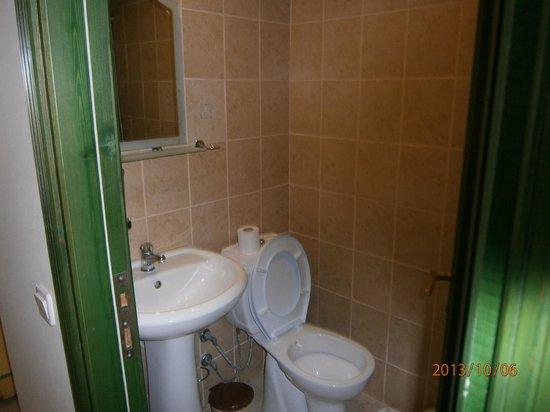Elit Garden Hotel : Elite bathroom
