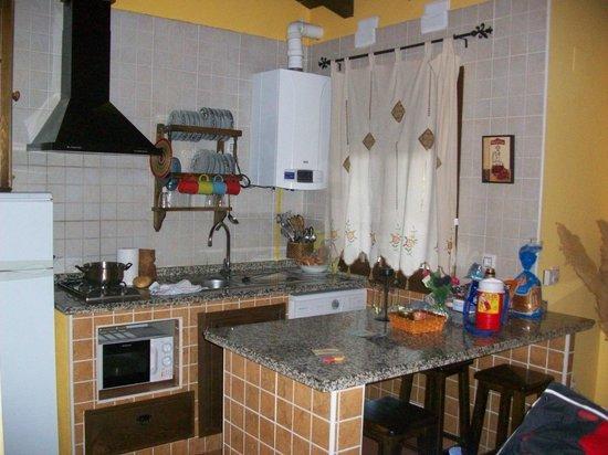 Horcajo, Spain: COCINA
