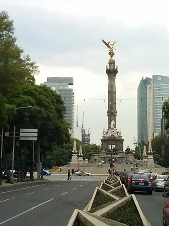 Turibus: El Angel de la Independencia por Reforma