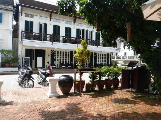 The Belle Rive Boutique Hotel: Belle Rive Hotel view from street