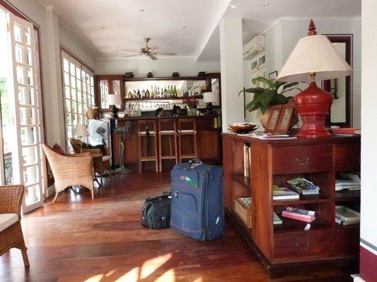 The Belle Rive Boutique Hotel: Reception Area Belle Rive Hotel