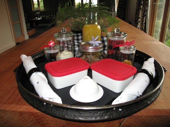 Eleven Stanley Place : Breakfast Tray
