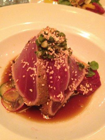 Thomas Hill Organics: Ahi Tuna Tataki Style