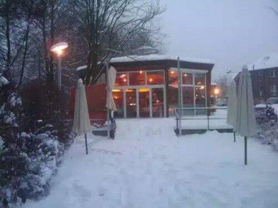 See Cafe Belzig: Im Winter