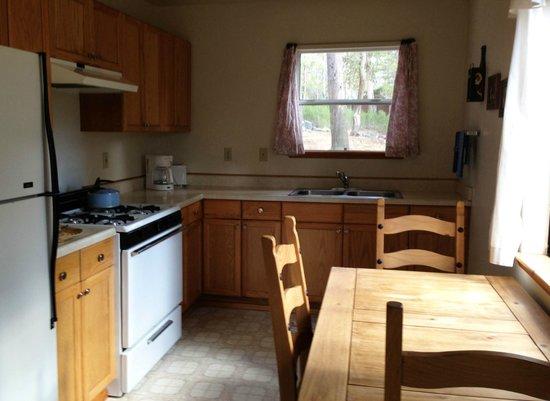 Wildyrie Lodge: Cabin #11 Kitchen
