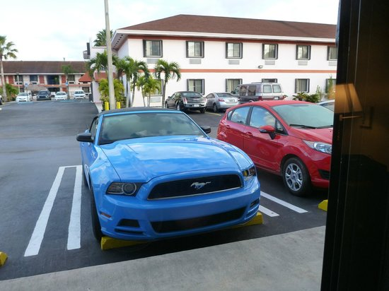 Travelodge Florida City/Homestead/Everglades: parking lot