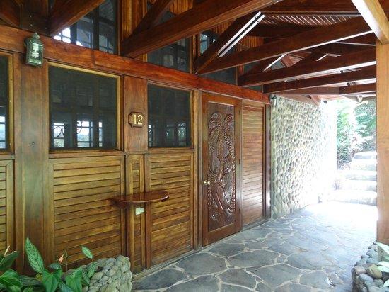 Aguila de Osa Inn: Entry to Room 12.