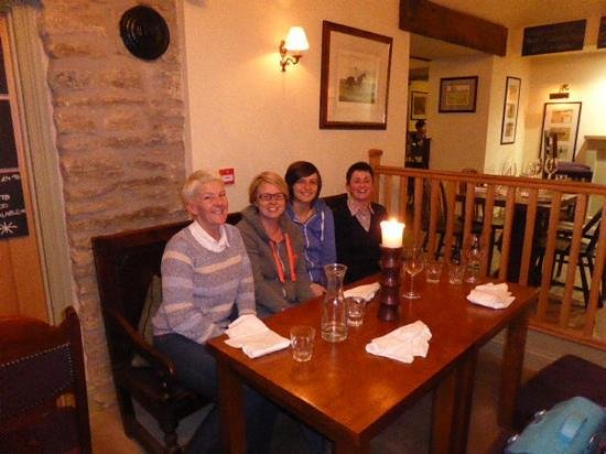 Crown and Cushion: lovely night out