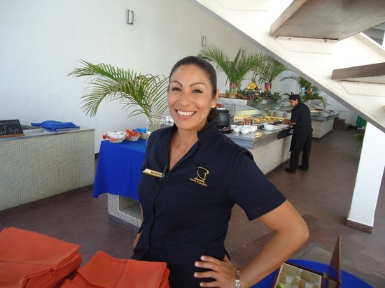 Vamar Vallarta All Inclusive Marina and Beach Resort : Marichuy.One of the restaurant supervisors.Excellent leadership skills and very personable.