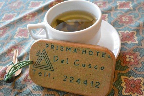 Prisma Hotel: Coca tea