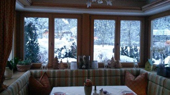 Hotel Garni Glockenstuhl: Комната завтраков