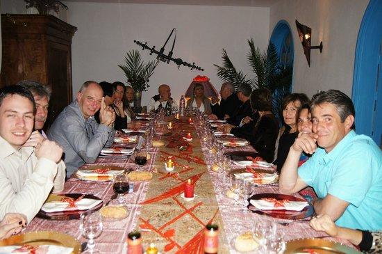Villa Daba : Salle à manger principale