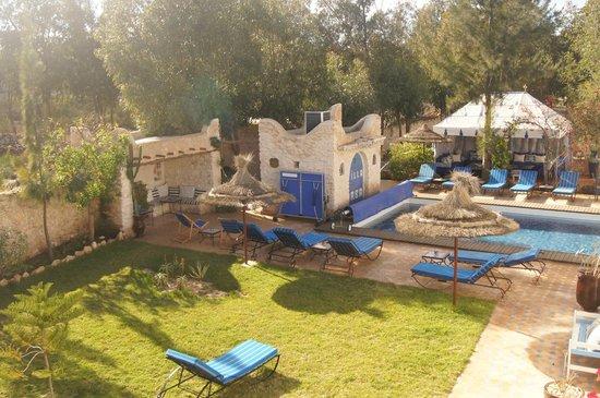 Villa Daba : Vue du balcon des chambres