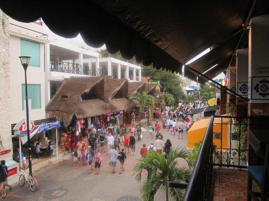 The Royal Haciendas All Suites Resort & Spa : Town of Playa del Carmen