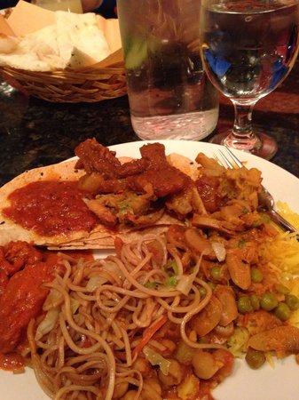 The Himalayan: Lunch buffet plate