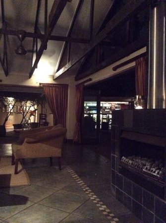 Ghost Mountain Inn : sogar mit Kamin