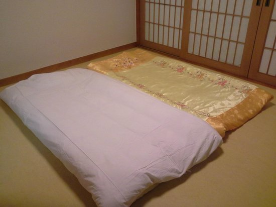 Hotel Aropa Namdaemun: Ondol Korean Style Room Bedding - Heated Floor