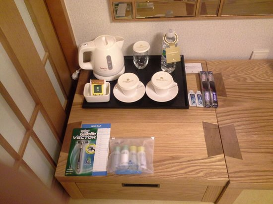 Hotel Aropa : Complementary In Room Coffee Service