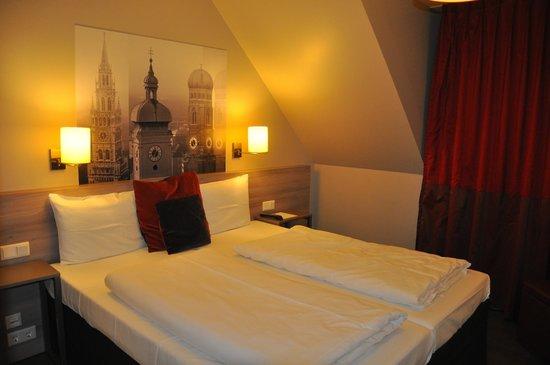 Adagio Muenchen City: Спальная зона