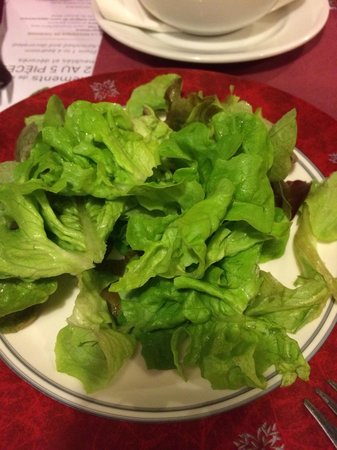 Le Serac : green salad