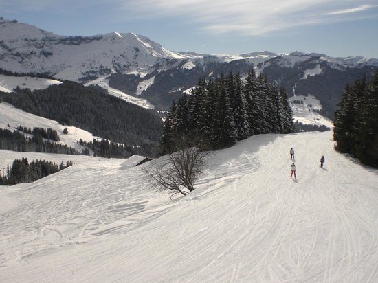 Ski Pros Megeve: A beautiful day !