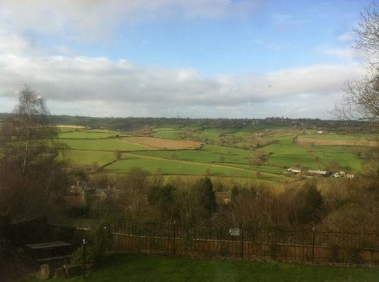 The Quarrymans Arms: Lovely views