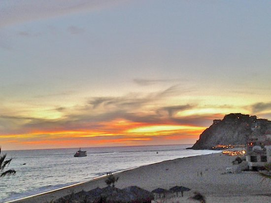Grand Solmar Land's End Resort & Spa: Just One of Many Gorgeous Sunsets