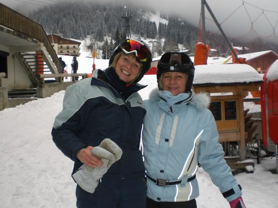 Ski Pros Megeve: Rose & Tracy
