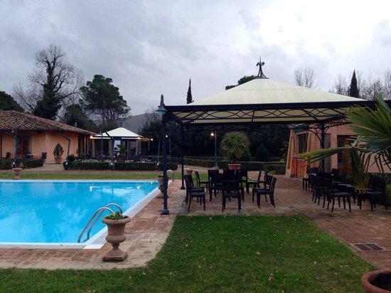 Il Piccolo Castello Hotel: view from our terrace