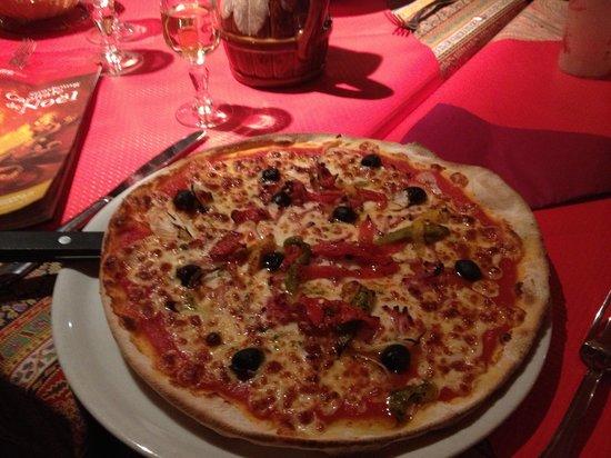 Le Gruber : pizza