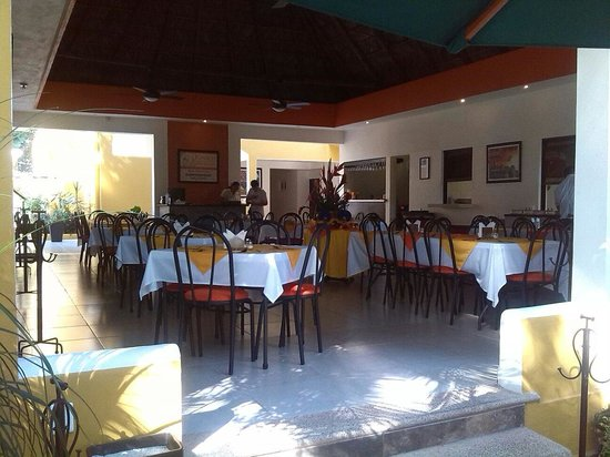 Hotel Chablis Palenque: Ristorante interno