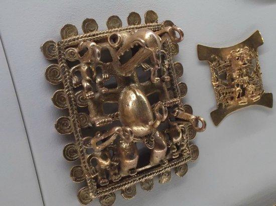 Museo del Oro Precolombino : Pre-Columbian Gold Pieces 1